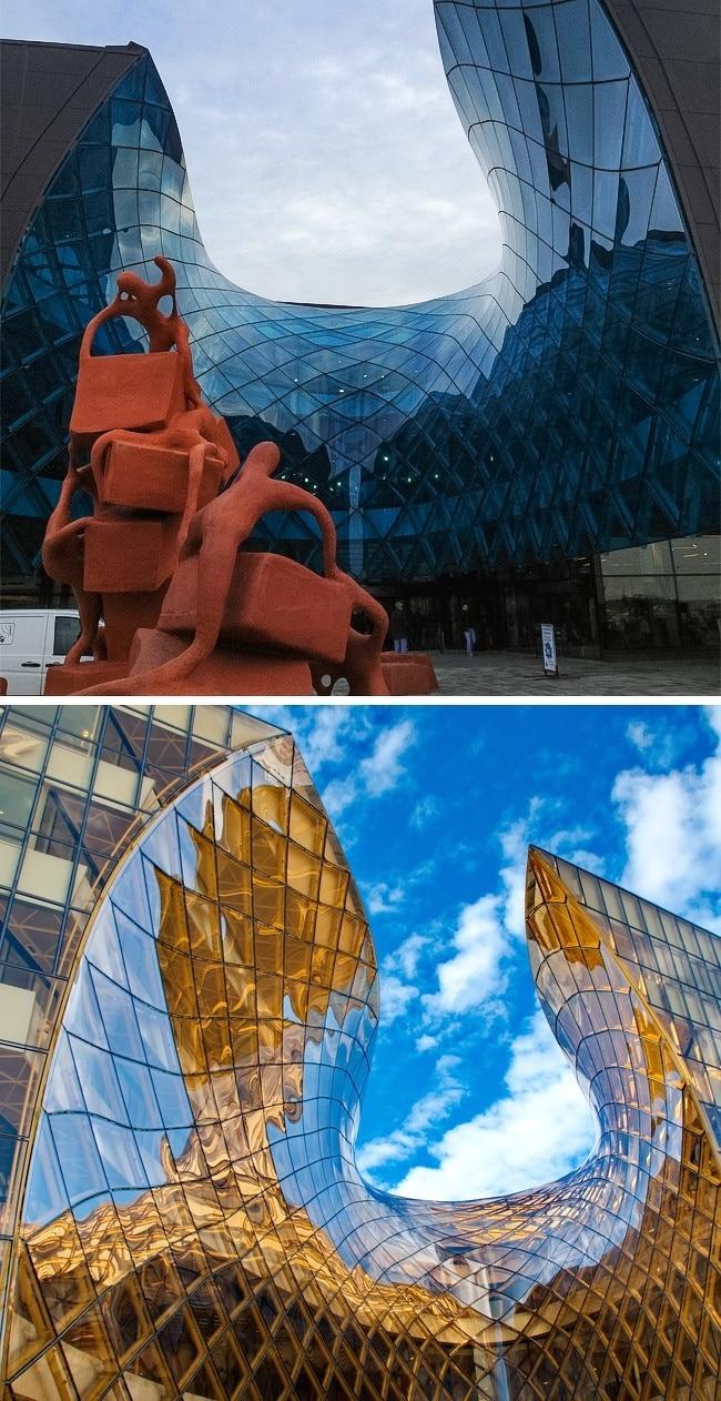 batiment-architecture-Centre-commercial-Emporia-Malmö-Suède