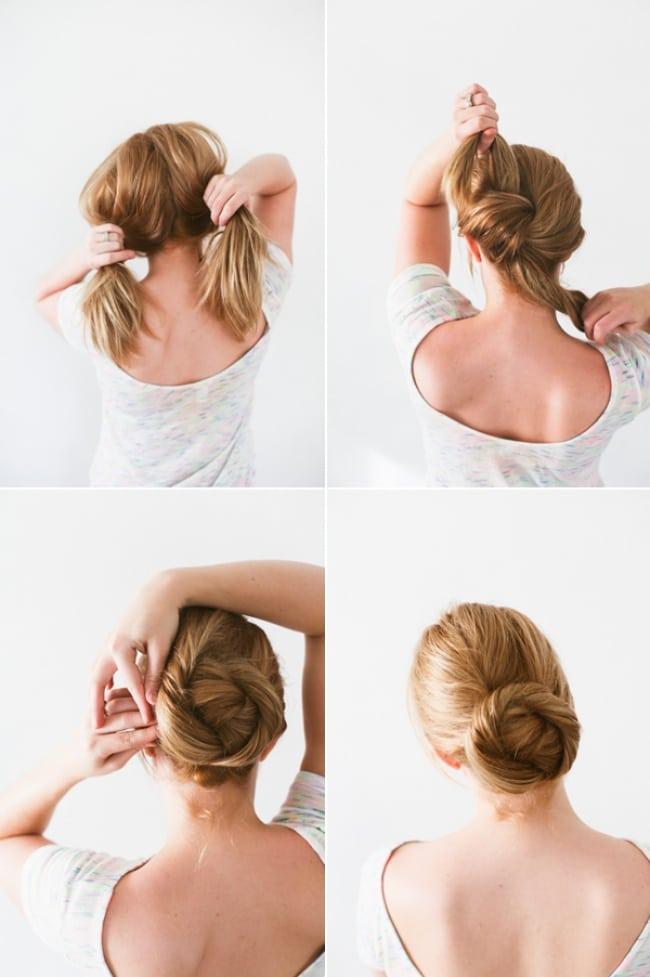 idée-de-coiffure-Chignon-tordu-2