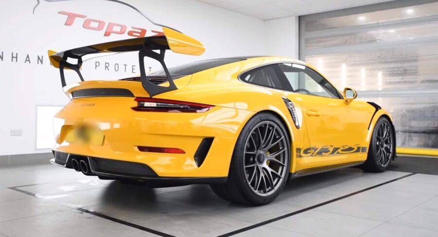 Detailing-auto-résultat-sur-une-Porsche-911-GT3-RS