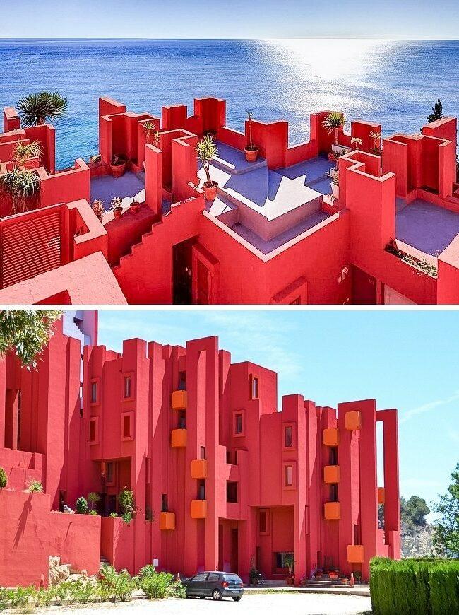 La-Muralla-Roja-Calpe-Espagne