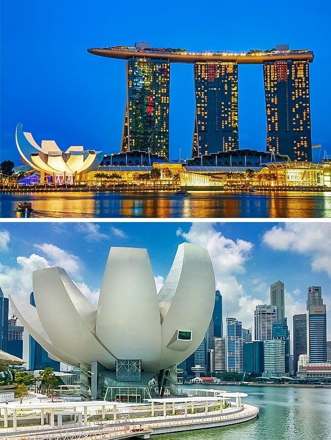Musée-ArtScience-Singapour