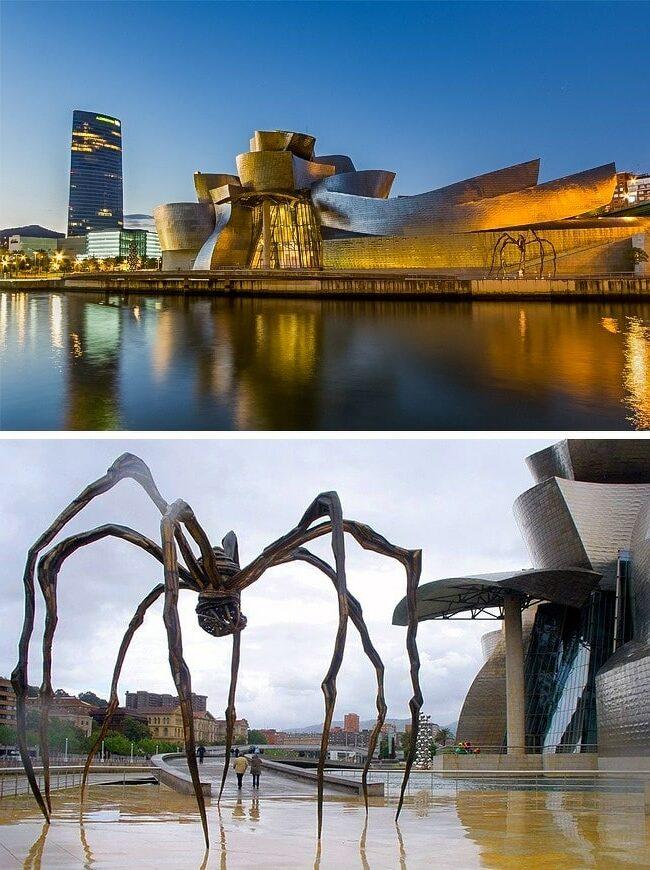 Musée-Guggenheim-de-Bilbao-Espagne