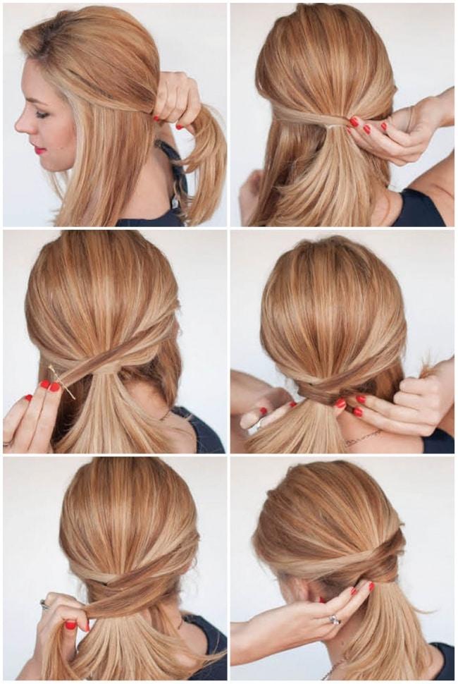 idée-de-coiffure-Queue-de-cheval-originale-2
