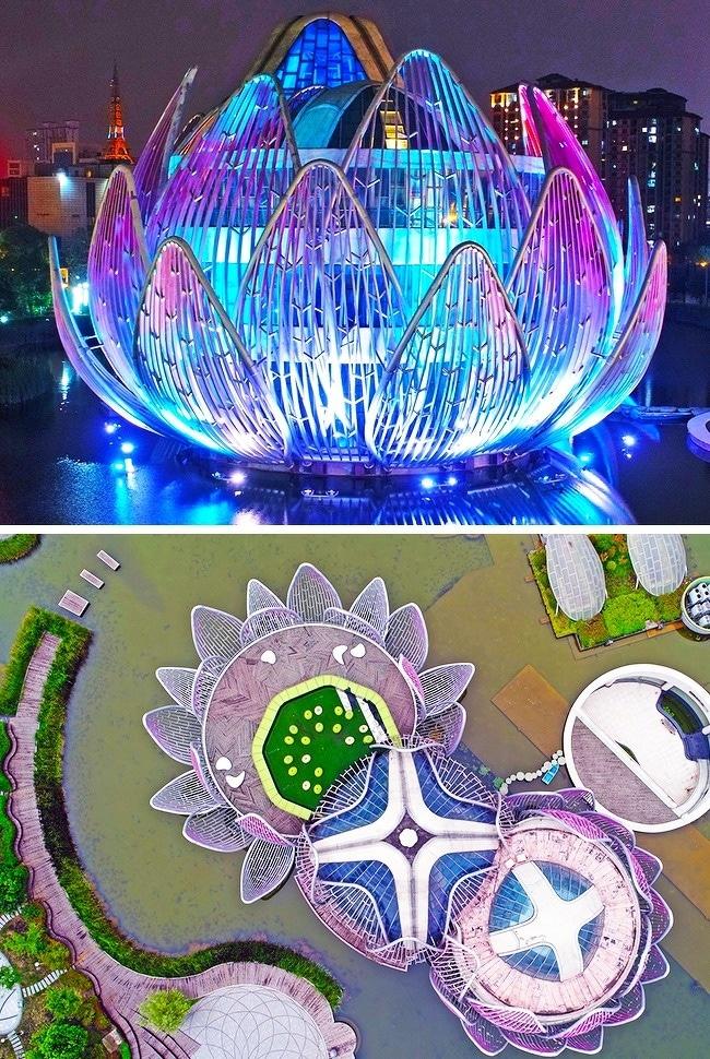 batiment-architecture-Lotus-Wujin