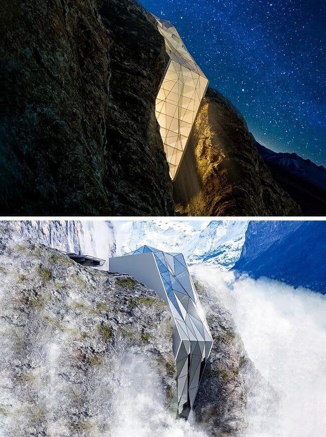 hôtel-incroyable-dans-les-Alpes