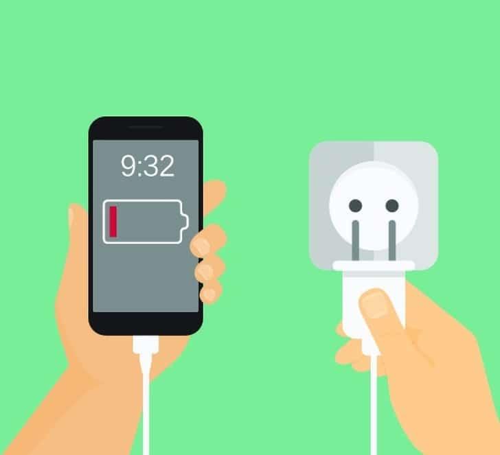 chargeur-téléphone-nuit