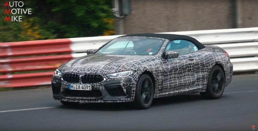 M8-cabriolet-camouflée-La-BMW-aperçue-sur-le-Nürburgring