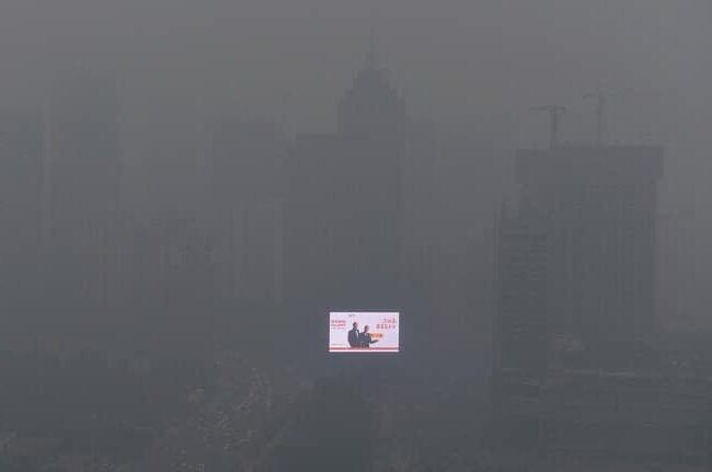 pollution-Chine-dérèglement-climatique