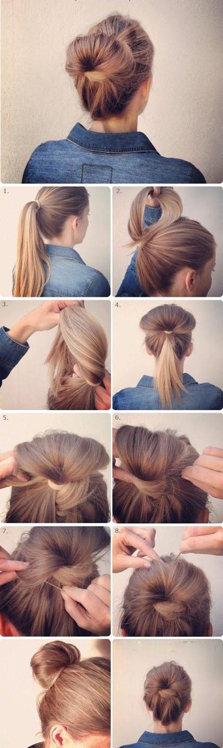 chignon-cheveux