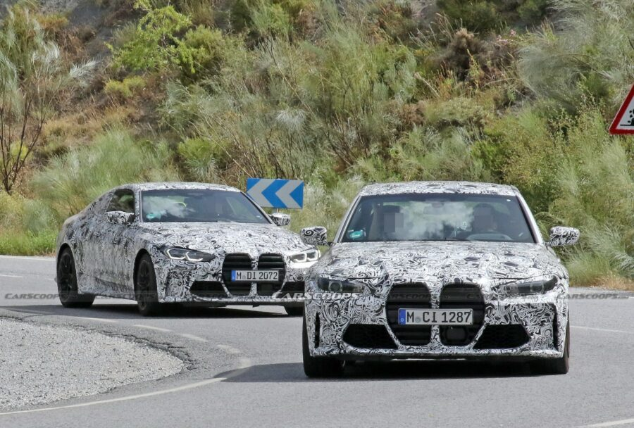 BMW-M4-2020-elle-abandonne-plus-de-camouflage