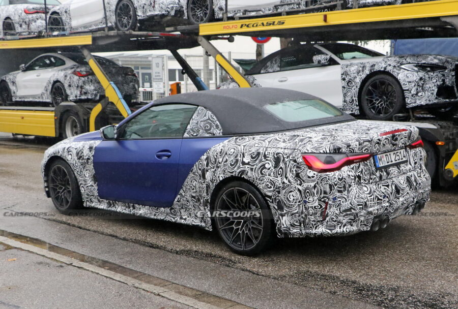 BMW-M4-Cabriolet-2021-aperçue-avec-le-bleu-M