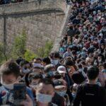 Golden-week-Forte-affluence-à-la-Grande-Muraille-de-Chine