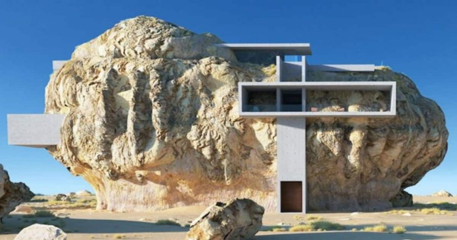House-Inside-A-Rock-Découvrez-la-maison-troglodyte