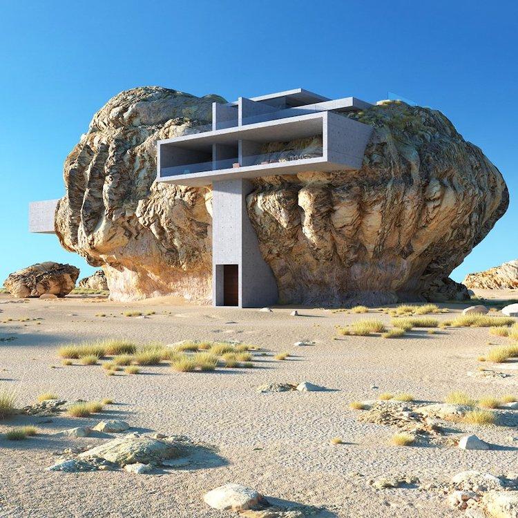 House-Inside-A-Rock