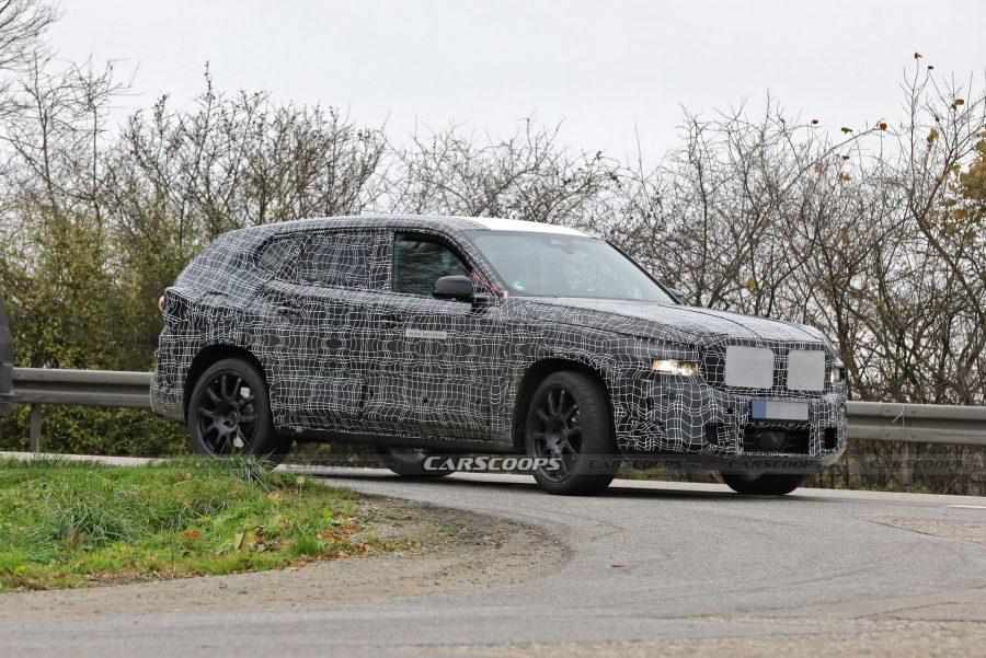 BMW-X8-camouflé-en-plein-test-sur-les-routes