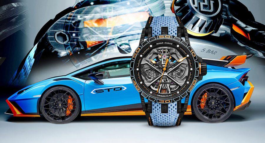 Roger-Dubuis-lance-une-montre-inspirée-de-la-Huracan-STO